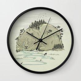 Hibernature Wall Clock