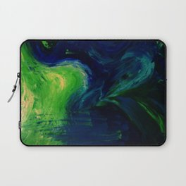 Abstract Hurricane by Robert S. Lee Laptop Sleeve