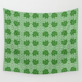 Irish Clover Wall Tapestry