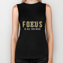 Photographer Shirt Focus Is All You Need Camera Lovers Gifts Biker Tank