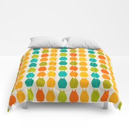 my neighbor pattern Comforters