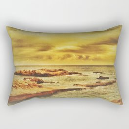 Autumn Sunset Rectangular Pillow