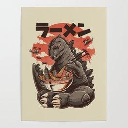 Kaiju's Ramen Poster