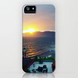 Sunset Dates iPhone Case