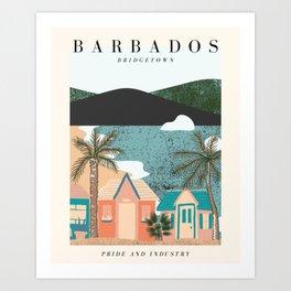 Barbados Exhibition Art Print