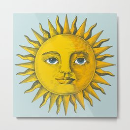 Sun Painting Metal Print