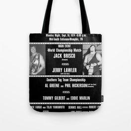 #1-B Memphis Wrestling Window Card Tote Bag