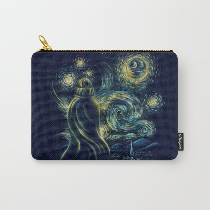 Death Starry Night Carry-All Pouch