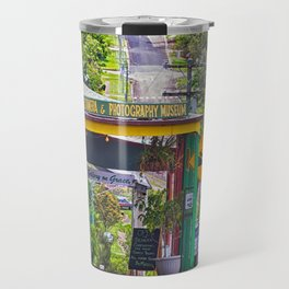 Beautiful street in the country Travel Mug