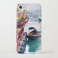 hong kong iPhone & iPod Cases featuring Hong Kong  by Juliette