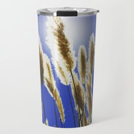 Backlit Blue Travel Mug