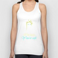 tina fey Tank Tops featuring The Moon Fey by False Cognate