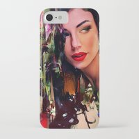 pin up iPhone & iPod Cases featuring Pin Up by Ganech joe