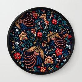 phoenix dance Wall Clock