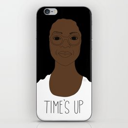 Oprah - Time's Up iPhone Skin