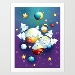 Christmas Spirit Art Print