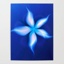 La Fleur Magique de la Sorcière Fractal Poster