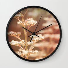 Summer tiers Wall Clock