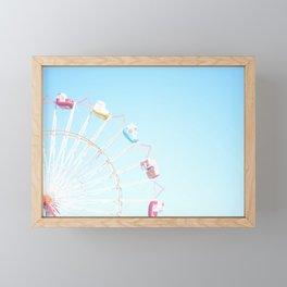 Fryeburg Fair Ferris Wheel Framed Mini Art Print