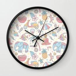 Dream of Thailand Wall Clock
