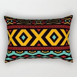 Tribal dance Rectangular Pillow