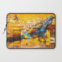 Street Art Bird Laptop Sleeve
