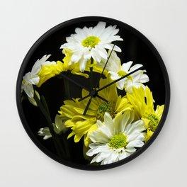 Sunshine Daisy, Butter Melow Wall Clock