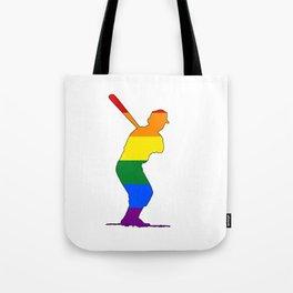 Rainbow Batter Tote Bag