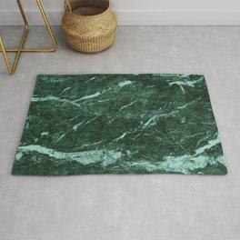 Dark Green Marble texture Rug