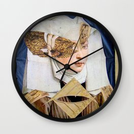 JUNGE FRAU Wall Clock