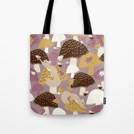 Fall Acorn Hunt Tote Bag