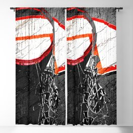 basketball artwork 127 Blackout Curtain