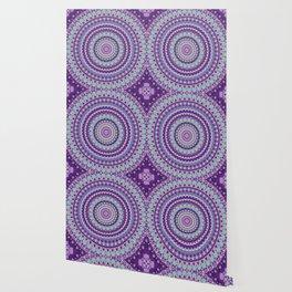 Iris Passion Mandala Wallpaper