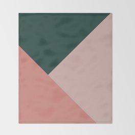 Geometric Summer Delight #1 #minimal #decor #art #society6 Throw Blanket
