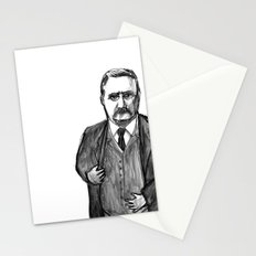 Theodore Roosevelt Did All the Things. Stationery Cards