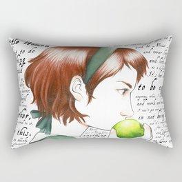 Jo March - Little Women Rectangular Pillow