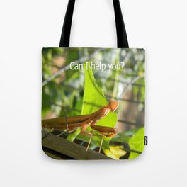 Can I help you? Tote Bag
