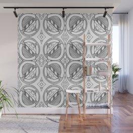Circles Wall Mural