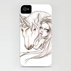 Her first Unicorn Slim Case iPhone (4, 4s)