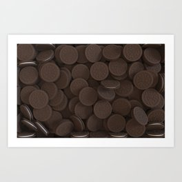 Full of cookies Art Print