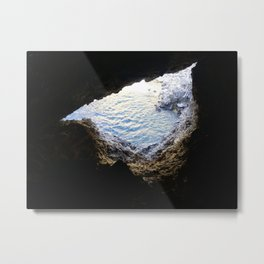 Allegory of the Cave Metal Print