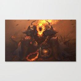 High Noon Thresh League Of Legends Canvas Print
