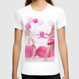 PINK Teddy Fight T-shirt