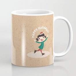 Holiday Ice Skating Coffee Mug