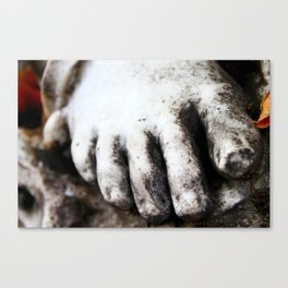 Cold Feet in Montparnasse Canvas Print