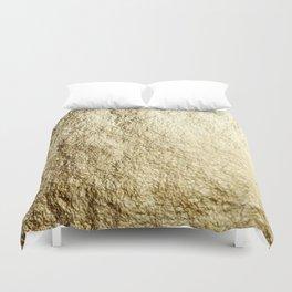 Crinkled Gold Duvet Cover