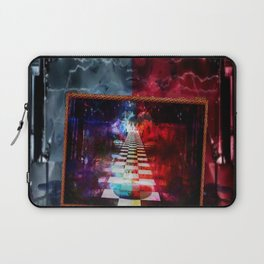 """The Choice:Red or Blue"" by surrealpete Laptop Sleeve"