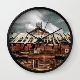 Imminent collapse Wall Clock