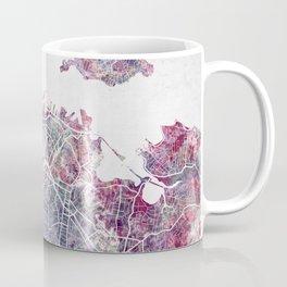 Auckland map Coffee Mug