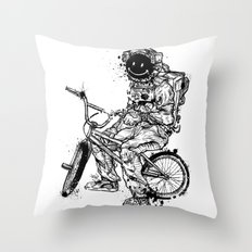 Void in Space (Blk) Throw Pillow